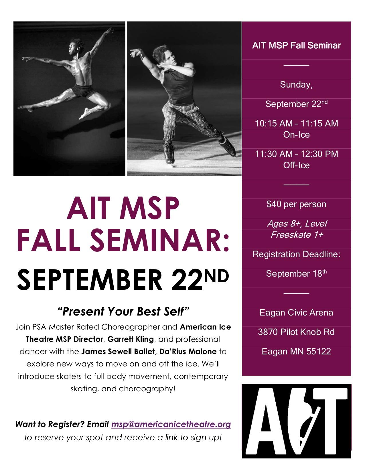 AIT MSP Fall Seminar 2019